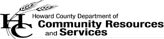 Sponsor Howard County Community Resources